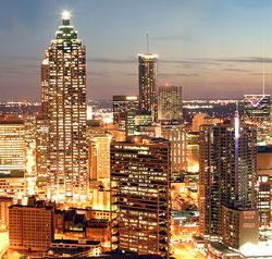 Find high bandwidth fiber optic services for the Atlanta, Georgia metro area...