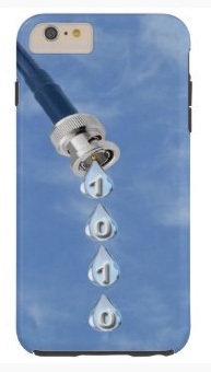 Broadband Cable Dripping Data iPhone 6 Case. Get one for yourself now.