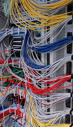 Be aware of how cabling and cooling can affect your server room efficiency.